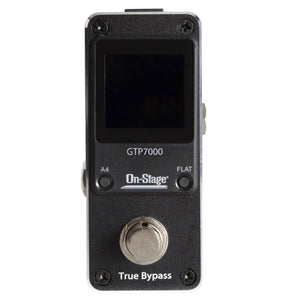 On-Stage GTP7000 Mini Pedal Tuner - Audio Leaders