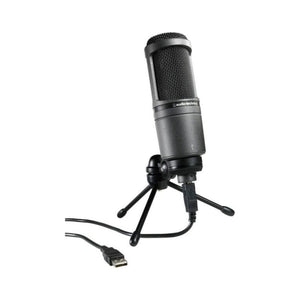 Audio-Technica AT2020USB+ Cardioid Condenser Microphone - Audio Leaders
