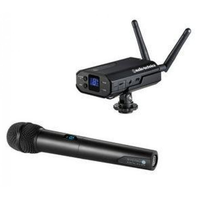 Audio-Technica ATW-1702 Dynamic Handheld Mic Camera-Mount System
