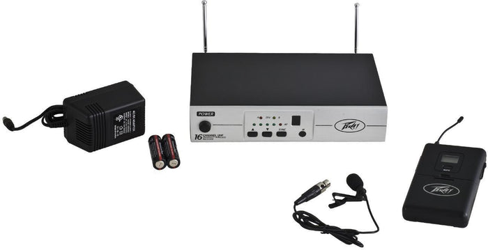 Peavey PV® 16  CH UHF WIRELESS - BL -Microphone
