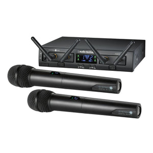 Audio-Technica ATW-1322 System 10 PRO Series Dual Handheld Digital Wireless - Audio Leaders