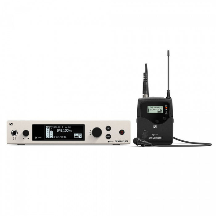 Sennheiser EW 300 G4-ME2-RC-AW+Wireless Lavalier set - Audio Leaders