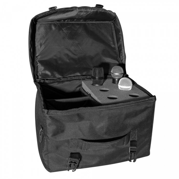 On-Stage Gear MB7006 Microphone Bag for Microphones and Accessories - Audio Leaders