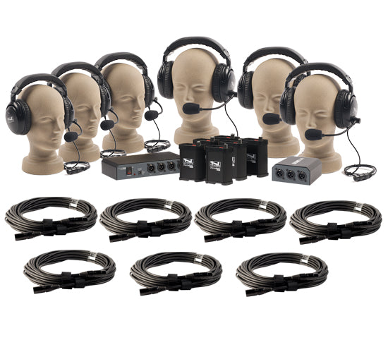 Anchor Audio PortaCom Six User Package (with cables) COM-60FC/C - Intercom - Audio Leaders