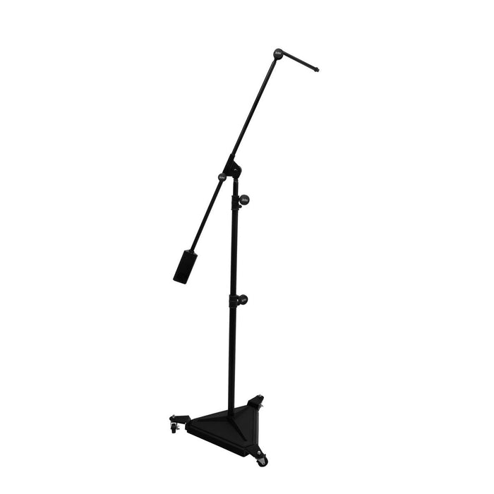On-Stage Hex-Base Studio Boom Microphone Stand - Audio Leaders