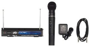 Peavey PV®-1 UHF Wireless Microphone System 923.700MHZ - HH - Audio Leaders