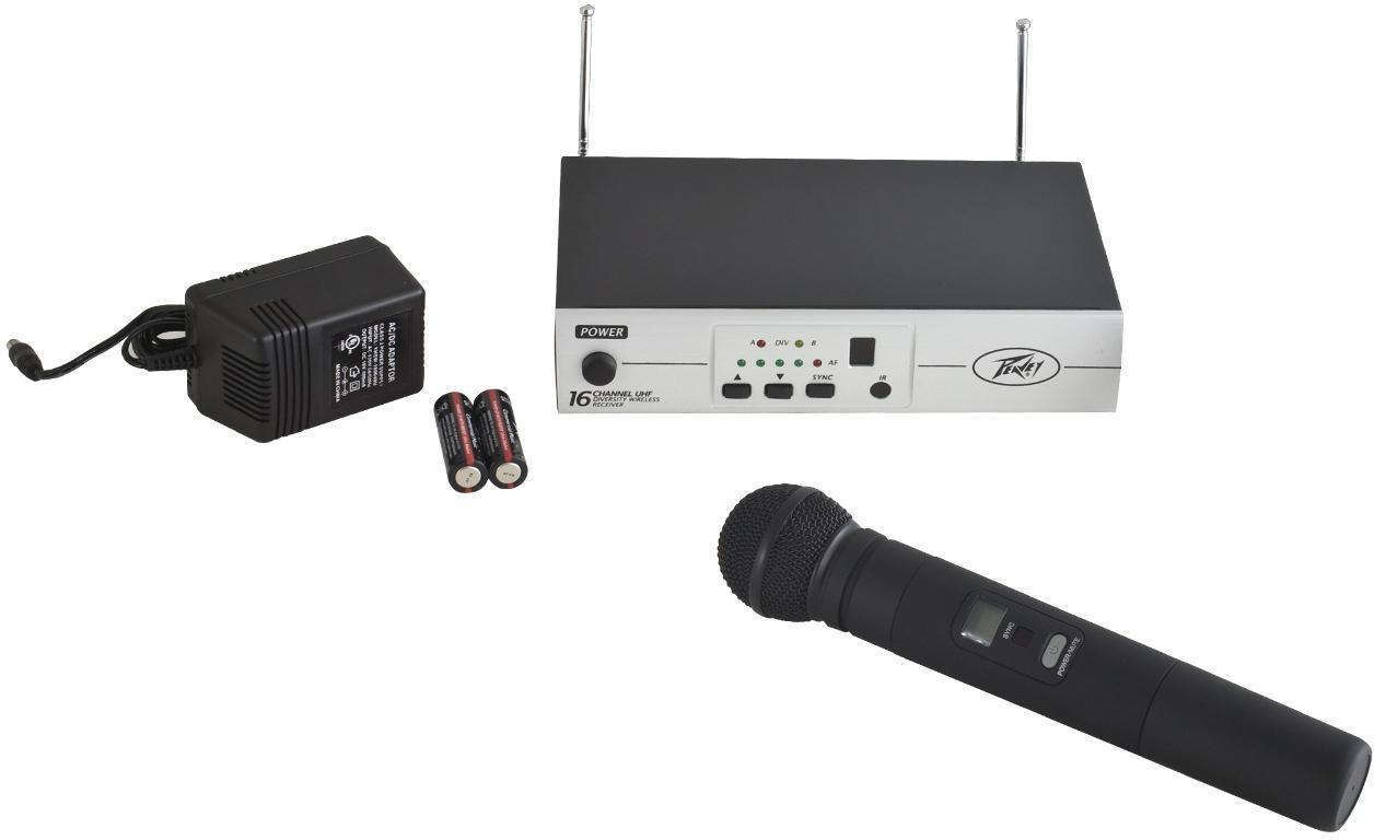 Peavey PV® 16  CH UHF WIRELESS - HH - Audio Leaders