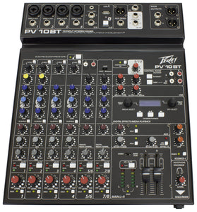 Peavey PV® 10 BT  - Unpowered Mixer - Audio Leaders