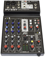 Peavey PV® 6 BT  - Unpowered Mixer - Audio Leaders