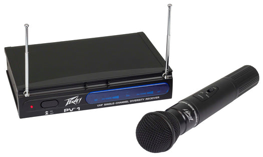 Peavey PV®-1 UHF Wireless Microphone System 923.700MHZ - HH