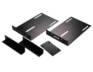 Anchor Audio Double Rack Mount (Black), RM-12BK+