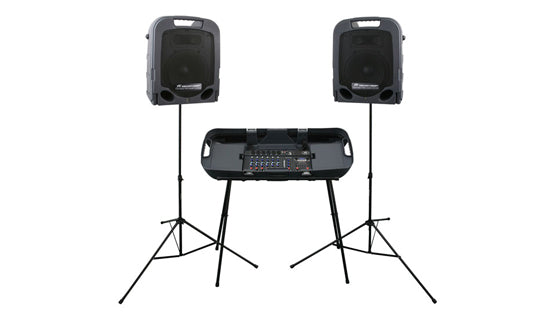 Peavey ESCORT 3000 with mixer stand - Audio Leaders
