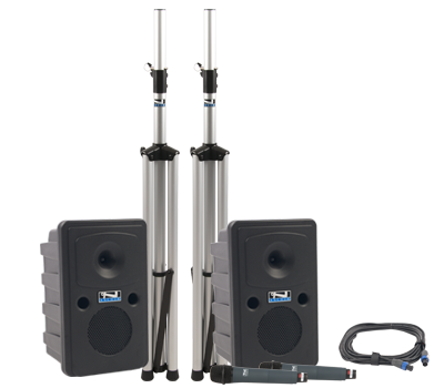 Anchor Audio Go Getter 2 Deluxe Package Dual, GG-DP2 - Audio Leaders