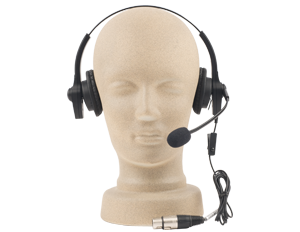 Anchor Audio Intercom Headset, H-2000 - Audio Leaders
