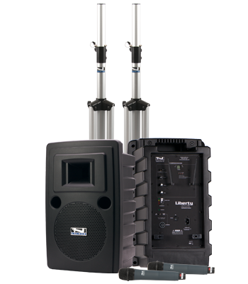 Anchor Audio Liberty 2 Deluxe AIR Package Dual, LIB-DP2-AIR - Audio Leaders