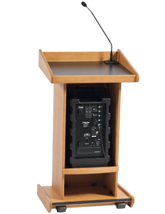 Admiral Lectern With Liberty Platinum, LK-LIB