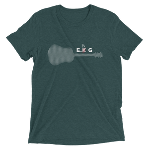 Guitar Lovers EKG T-shirt-Audio Leaders