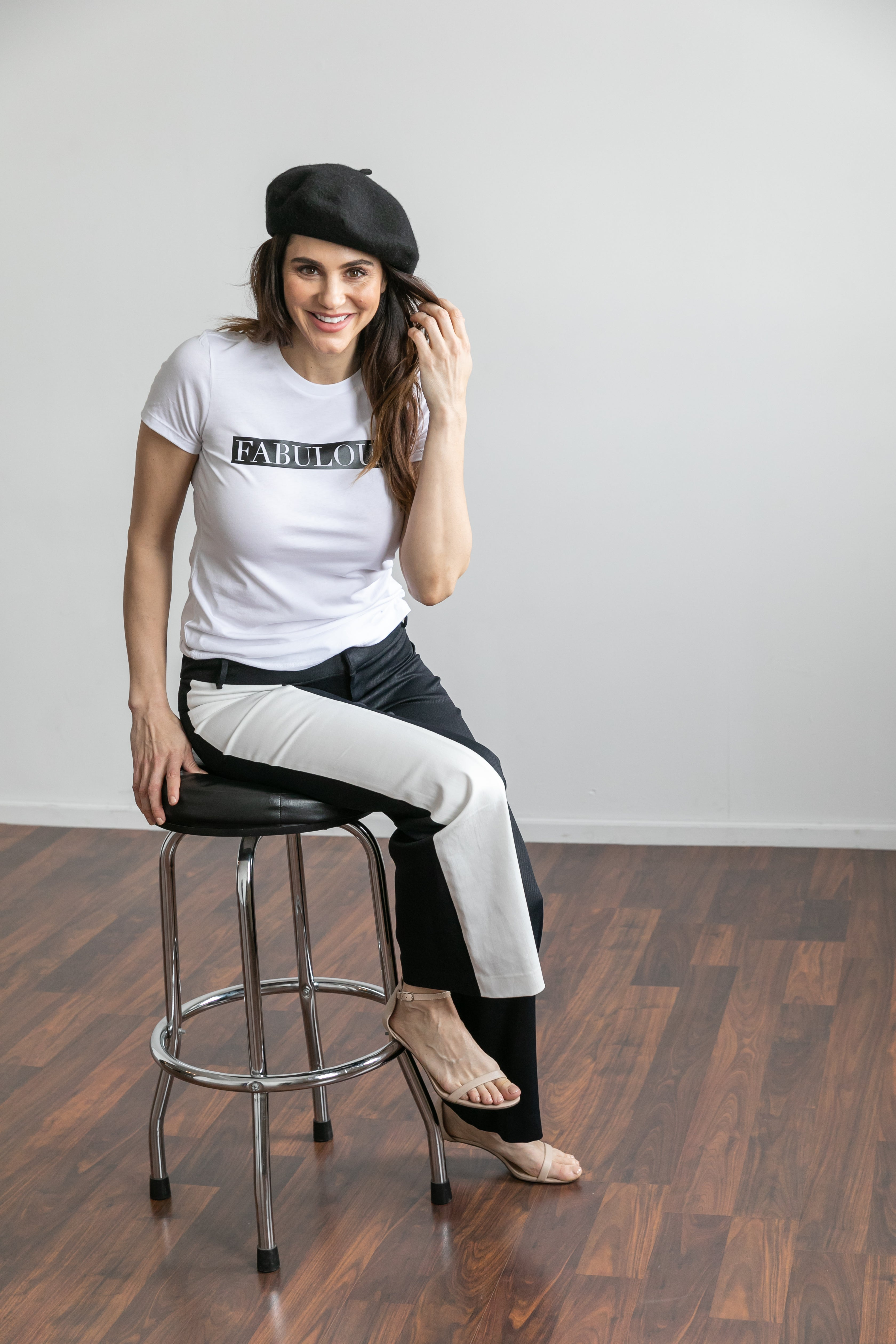 Black and White Fabulous Soft Tee