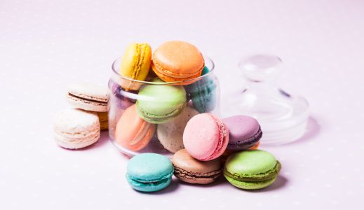 Macarons for a French Goûter