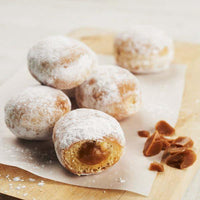 French beignet caramel mini donut