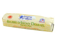 French salted butter Isigny AOC