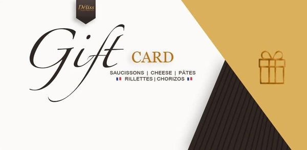Gift card Deliss Artisan French Food