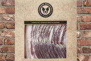 Free Range Pork Nitrate Free Smoked Bacon sliced pack of 200g