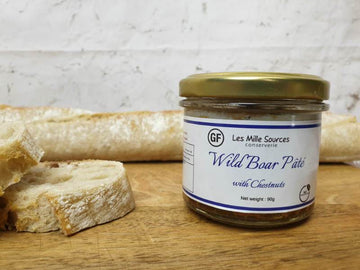 Wild Boar with Chesnuts Artisanal Pâtés