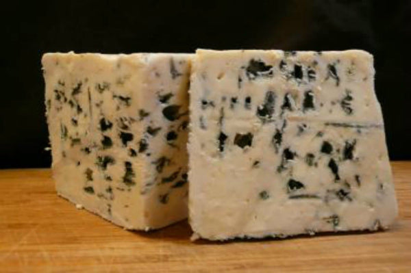 Roquefort AOP French Cheese on a cheeseboard