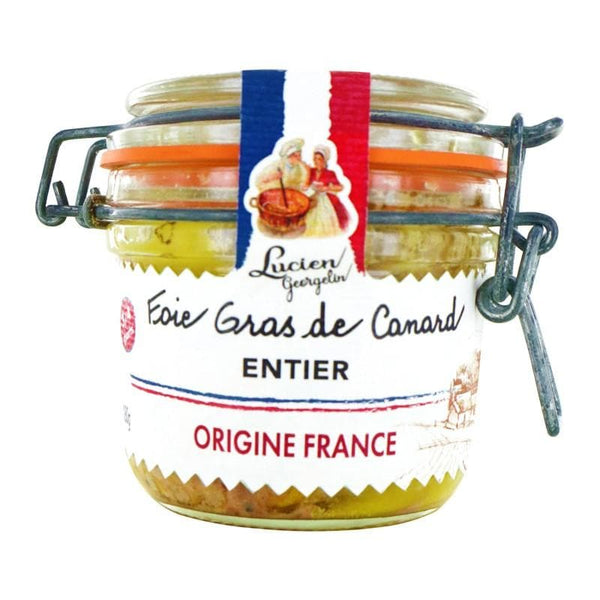 Whole Duck Foie Gras French food