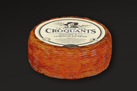 French cheese Tomme des Croquants Walnut Liqueur full wheel