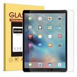 SPARIN iPad Pro 12.9 Screen Protector, [Multi-Touch Compatible] [.3mm / 2.5D Round Edge] [Tempered Glass] [Bubble-Free] Screen Film for new Apple iPad Pro 12.9""