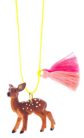 Gunner & Lux Farrah the Fawn Necklace