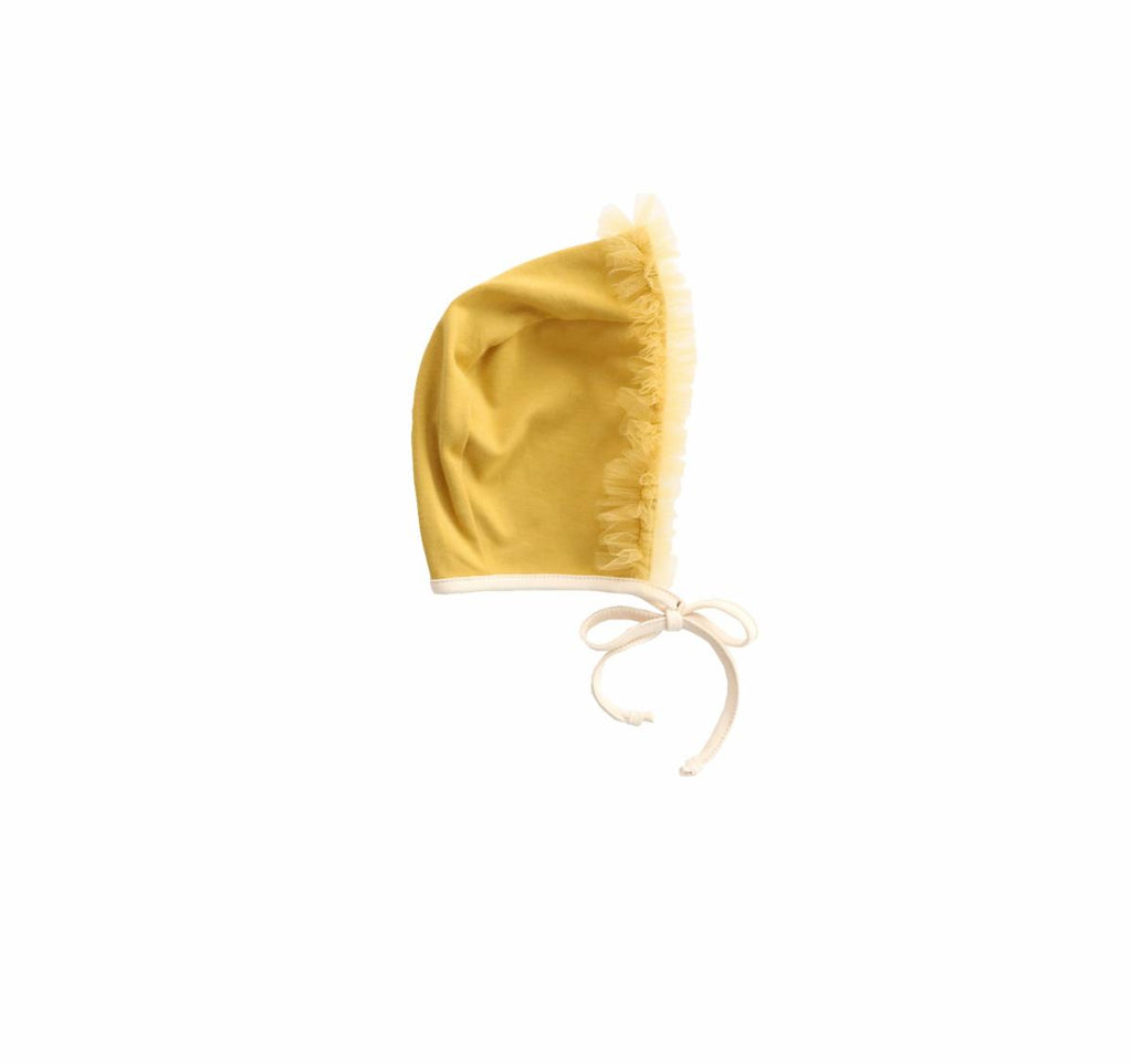 Wild WaWa Tulle Bonnet - Butterscotch