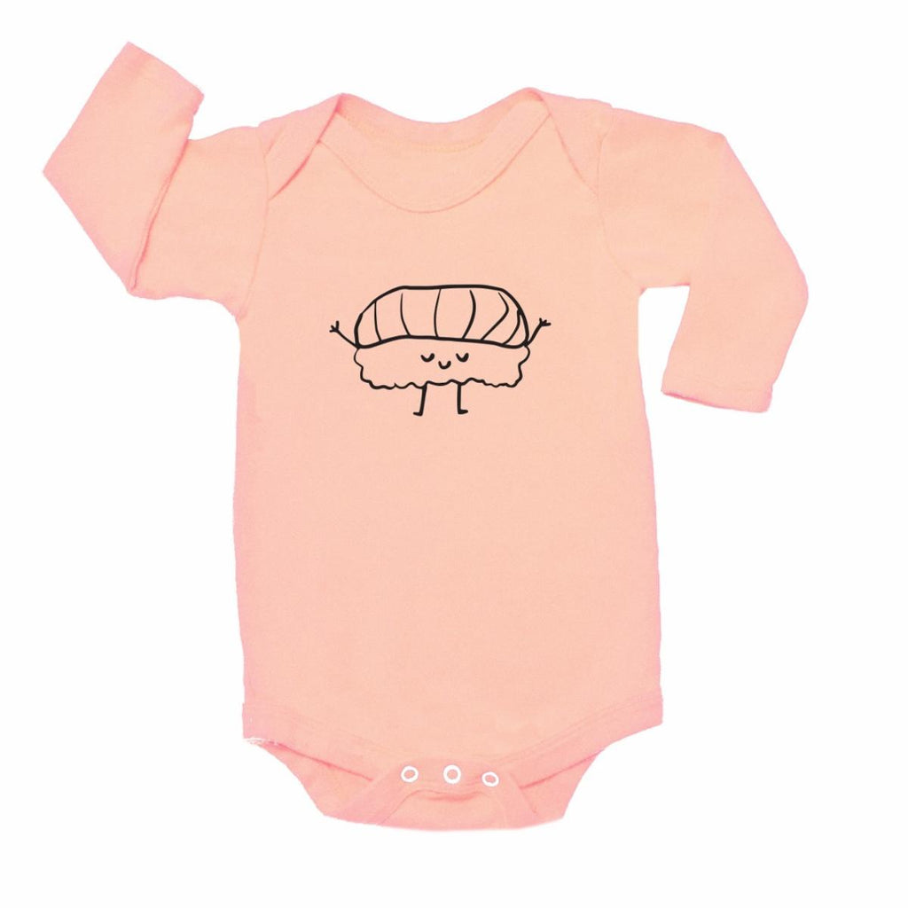 Kira Kids Graphic Onesie - Blush Nigiri