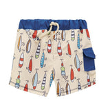 Mud Pie Lure Swim Trunks