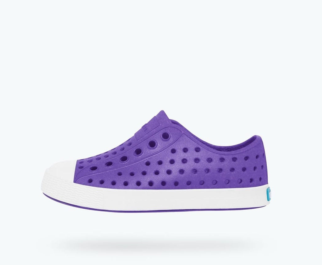 Native Jefferson Iridescent - Techno Purple/Shell White/Iridescent