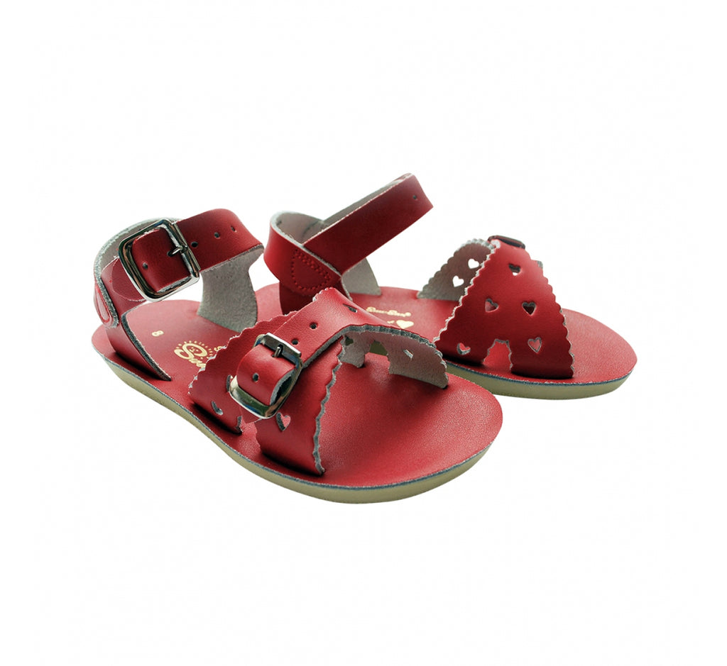 Sun San Saltwater Sandals Sweetheart - Red