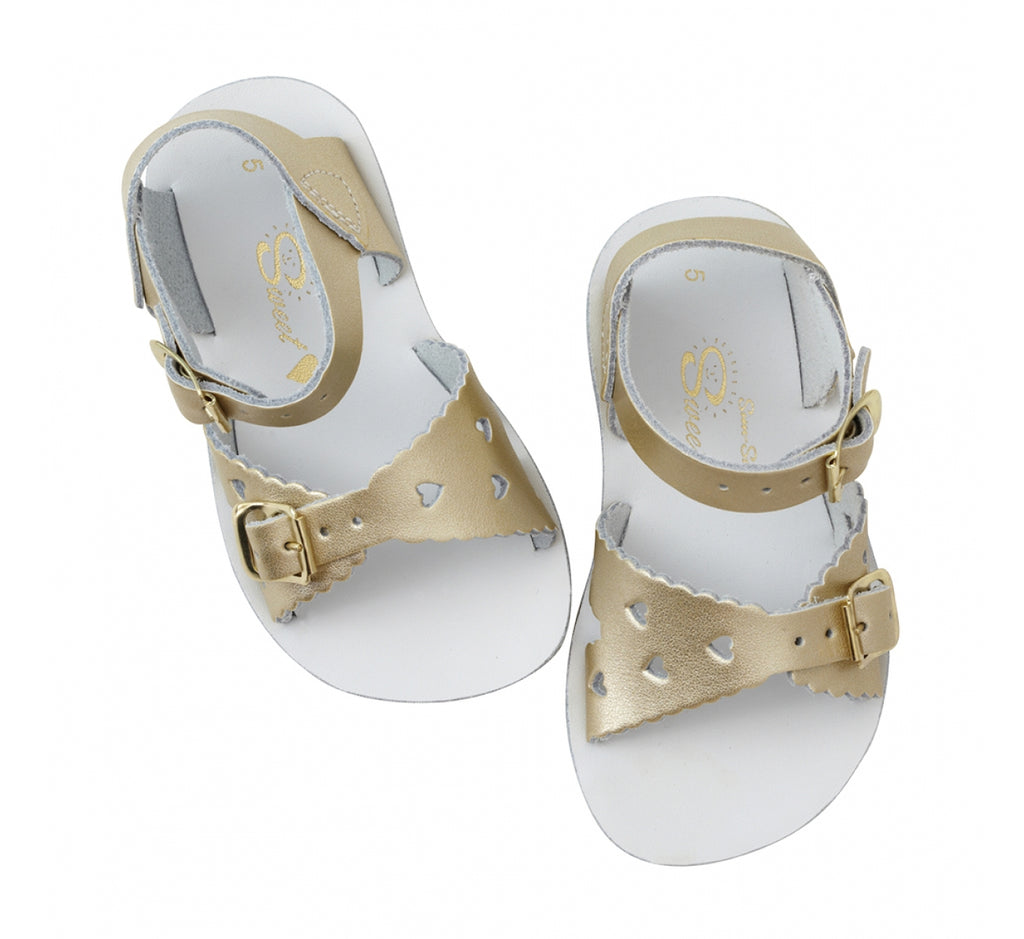 Sun San Saltwater Sandals Sweetheart - Gold