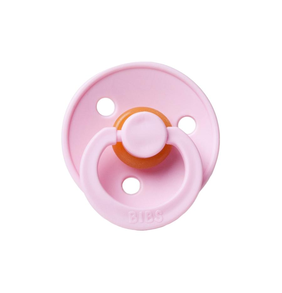Mushie Bibs Natural Rubber Pacifier - Baby Pink