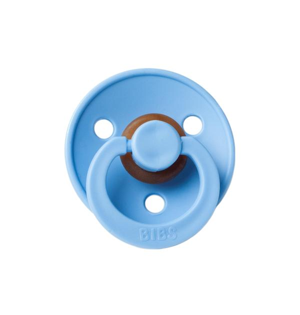Mushie Bibs Natural Rubber Pacifier - Sky Blue