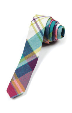 Appaman Tie - Orchid Plaid