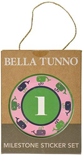 Bella Tunno Milestone Sticker Set, Prep Girl