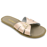 Sun San Saltwater Women's Sandals - Classic Slides in Rose Gold