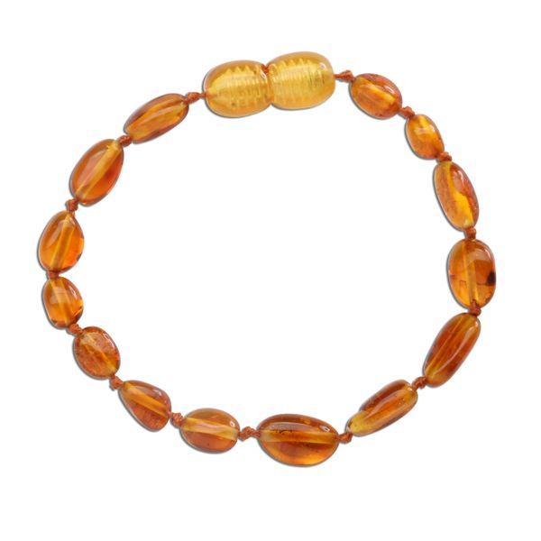 Amber Teething Bracelet - Honey Polished