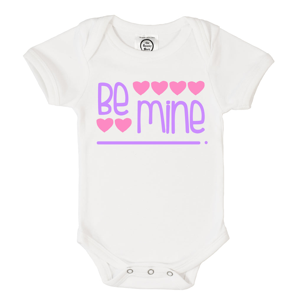 The Spunky Stork Be Mine Onesie
