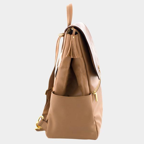 Freshly Picked Classic Backpack Diaper Bag - Butterscotch