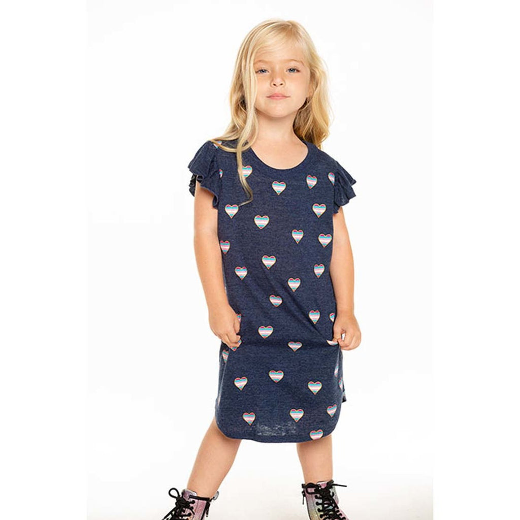 Chaser Girl's Beach Hearts Dress