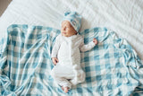 Copper Pearl Knit Swaddle - Lincoln