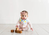Copper Pearl Bandana Bib Set - Celebration